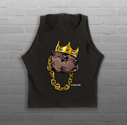 Biggie Style - Women - Sleeveless Crop Top