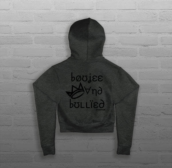 Boujee & Bullied - Women - Cropped Hoody