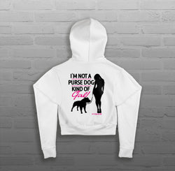 Bully Girl - Women - Cropped Hoody