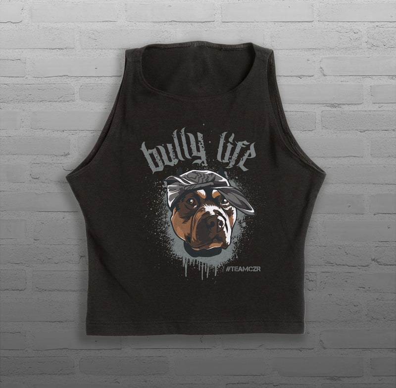 Bully Life - Women - Sleeveless Crop Top