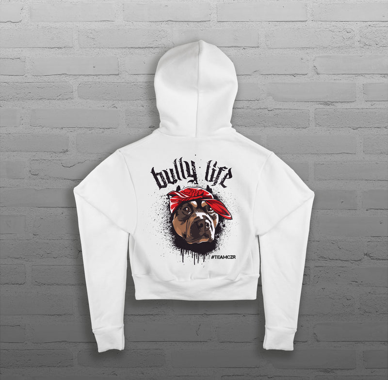 Bully Life - Women - Cropped Hoody