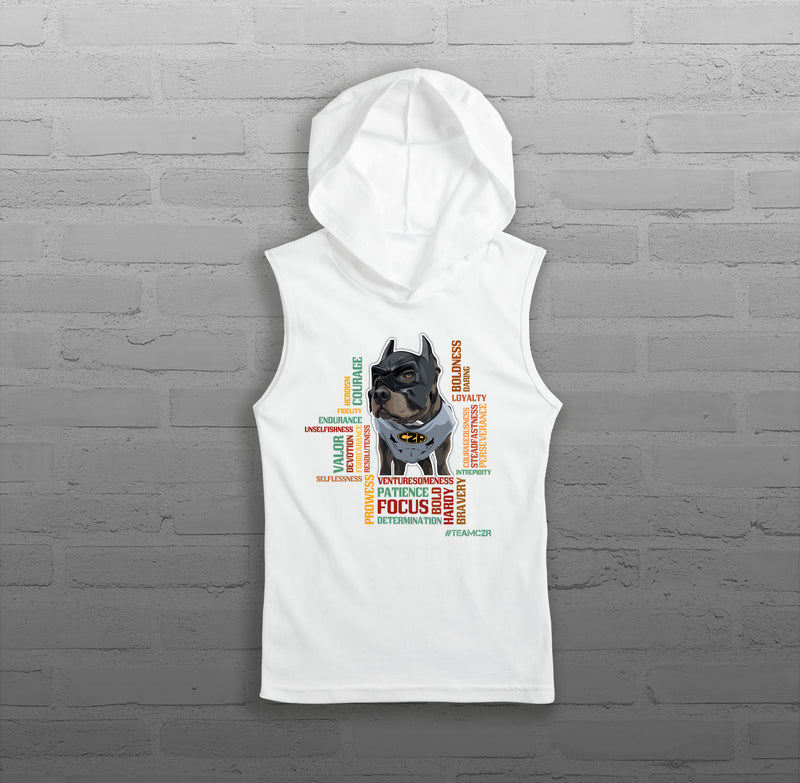 Characteristics - Women - Sleeveless Hoody