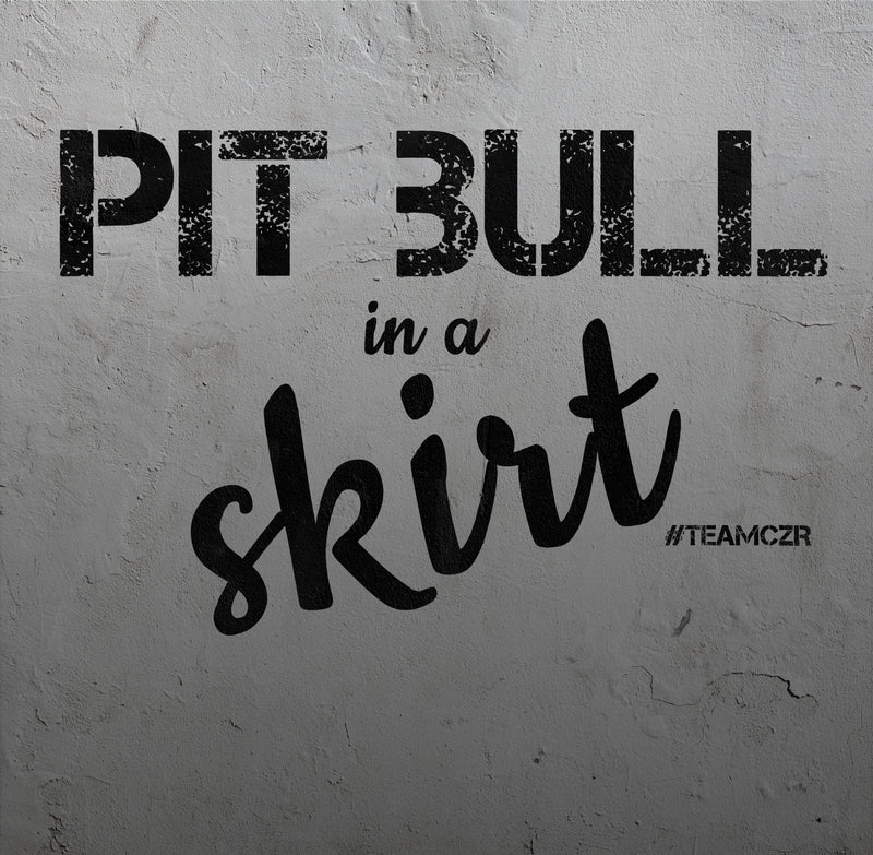 Pit Bull in a Skirt - Women - Sleeveless Crop Top