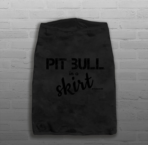 Pit Bull in a Skirt - Dog's - Tank