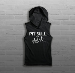 Pit Bull in a Skirt - Women - Sleeveless Hoody