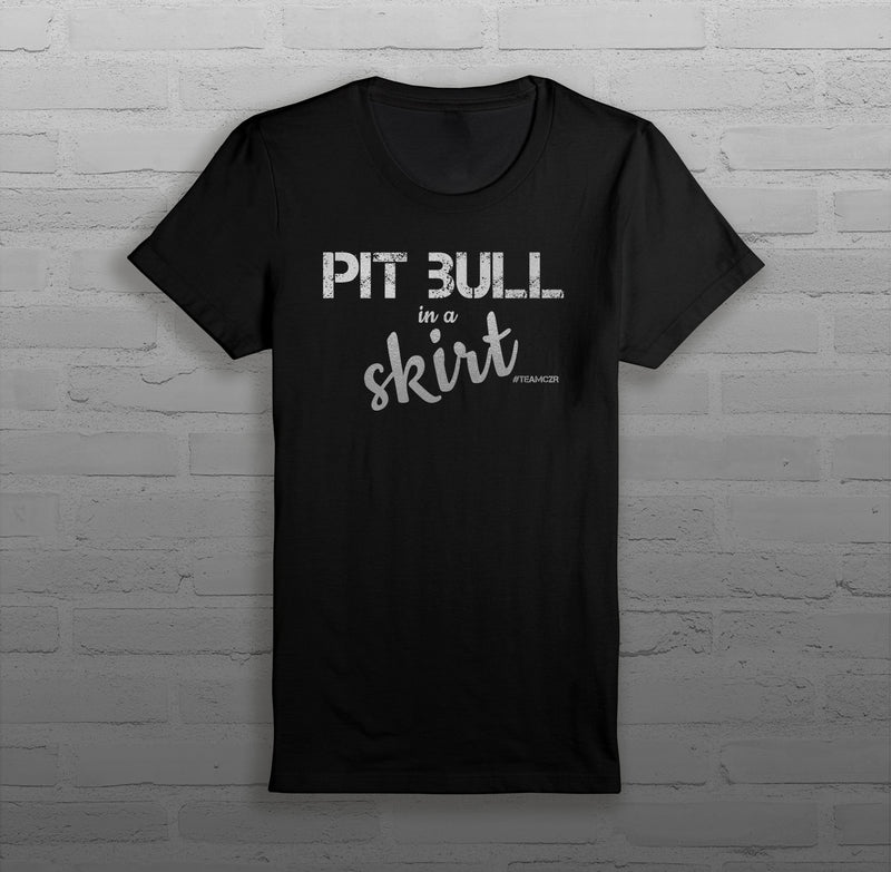 Pit Bull in a Skirt - Women - T-Shirt