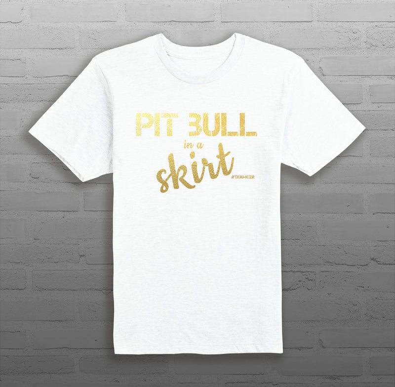 Pit Bull in a Skirt - Men's - T-Shirt