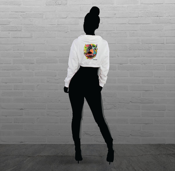 Pop Art, Via - Women - Cropped Hoody
