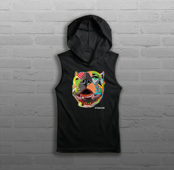 Pop Art, Via - Women - Sleeveless Hoody
