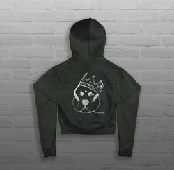 Royalty King CZR - Women - Cropped Hoody
