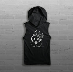 Royalty King CZR - Women - Sleeveless Hoody