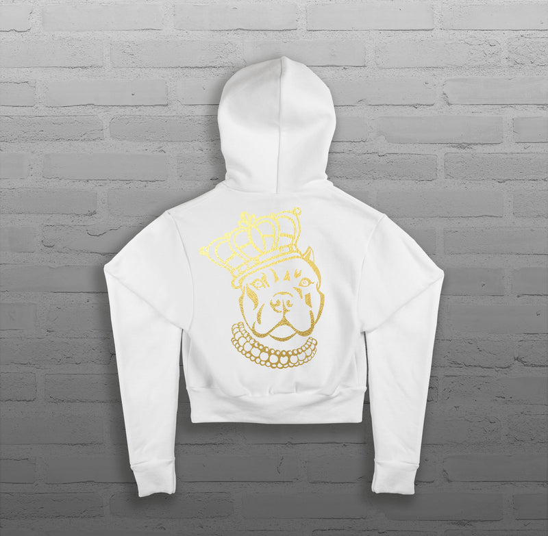 Royalty Queen Via - Women - Cropped Hoody