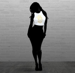 Royalty Queen Via - Women - Sleeveless Crop Top