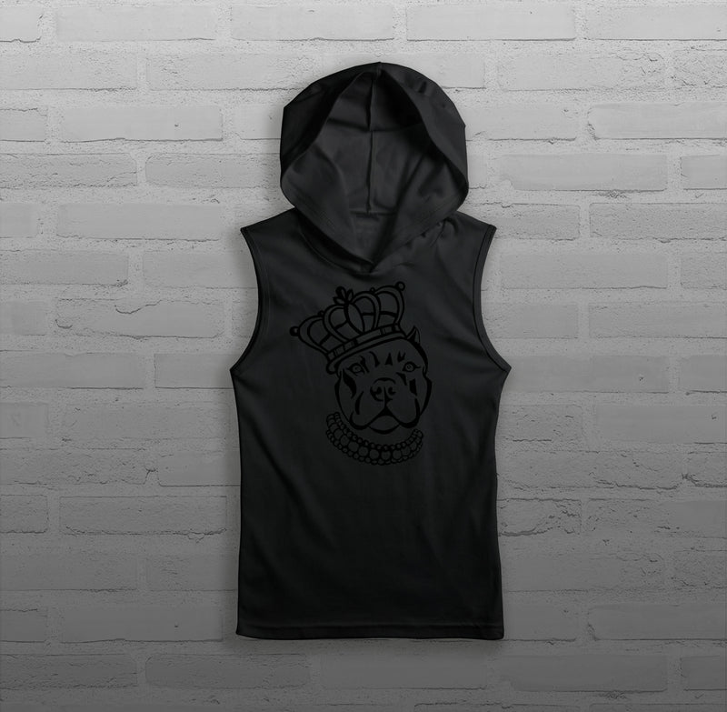 Royalty Queen Via - Women - Sleeveless Hoody