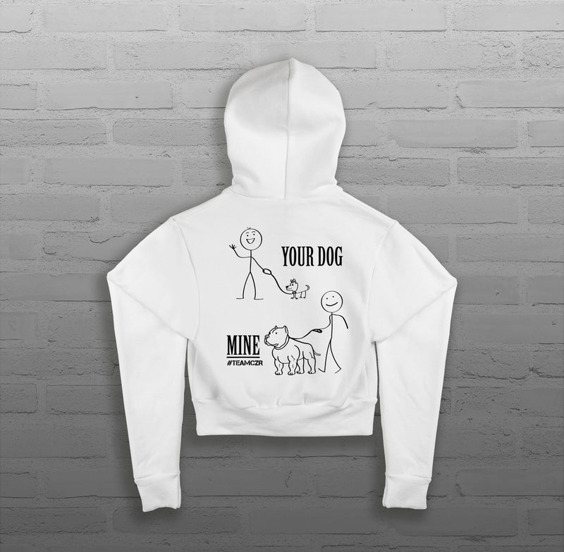 Your Dog, Mine - Women - Cropped Hoody
