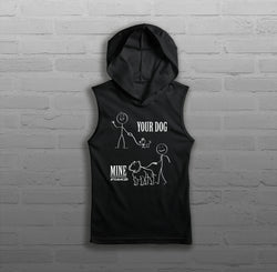 Your Dog, Mine - Women - Sleeveless Hoody