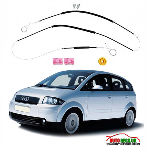 Audi A2 Window Regulator Repair Kit 2000 - 2005