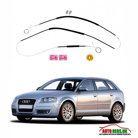 Audi A3 Window Regulator Repair Kit (5 Door) 2004 - 2008
