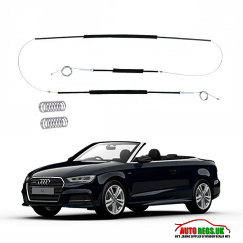 Audi A3 Cabriolet Window Regulator Repair Kit 2008 - 2010