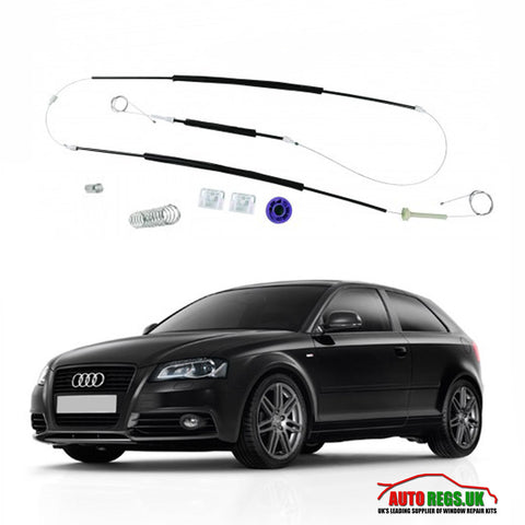 Audi A3 Window Regulator Repair Kit (3 Door) 2004 - 2008