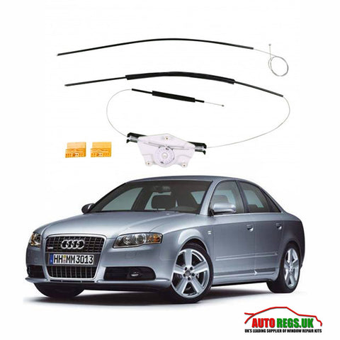 Audi A4 Window Regulator Repair Front & Rear 2000 - 2008