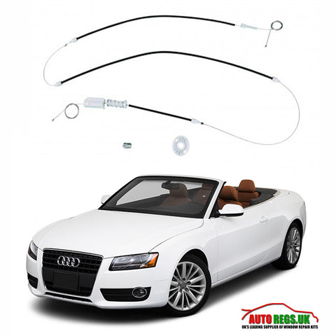 Audi A4 S4 Cabriolet Window Regulator Repair Front & Rear 2002 - 2010