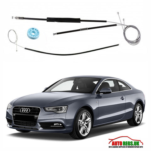 Audi A5 Coupe Window Regulator Repair Kit 2007 - 2016