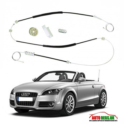 Audi TT 8J Coupe & Cabriolet Electric Window Regulator Repair Kit 2004 - 2013