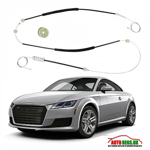 Audi TT 8S Coupe & Cabriolet Electric Window Regulator Repair Kit 2013 - 2017