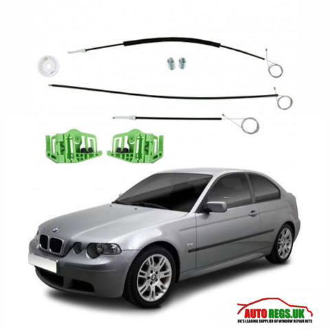 BMW E46 3 Series Compact Window Regulator Repair Kit 2000 - 2004