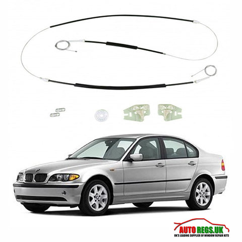 BMW E46 3 Series Window Regulator Repair Kit 1998 - 2004