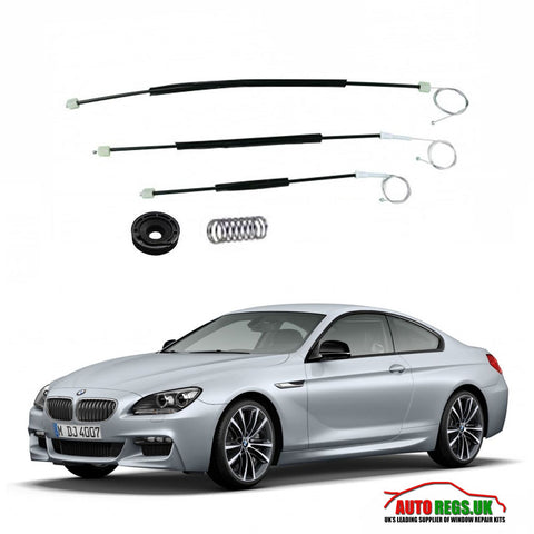 BMW F06 6 Series Gran Coupe Window Regulator Repair Kit 2011 - 2017