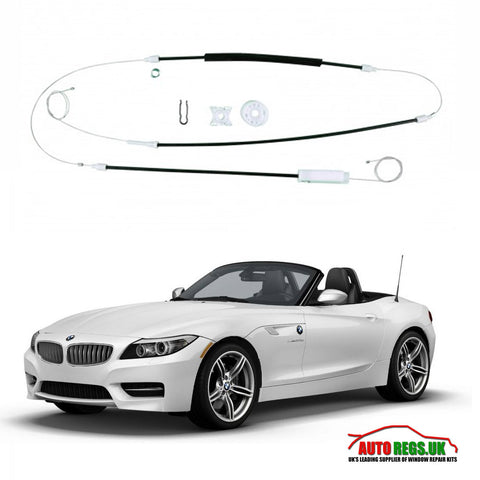BMW Z4 COUPE CABRIOLET WINDOW REGULATOR REPAIR KIT 2003 - 2008