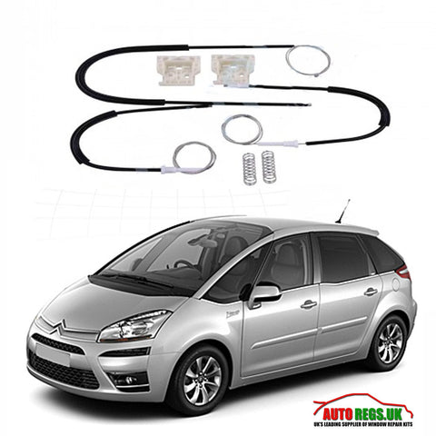 Citroen C4 Picasso Window Regulator Repair Kit 2006 - 2014