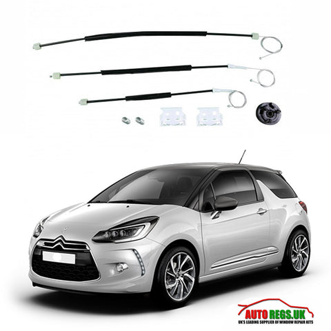 Citroen DS3 Electric Window Regulator Repair Kit 2009 - 2017