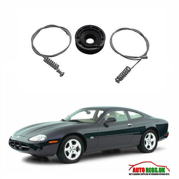 Jaguar xk8 cabriolet electric window regulator repair kit for 2001 jaguar s type window regulator