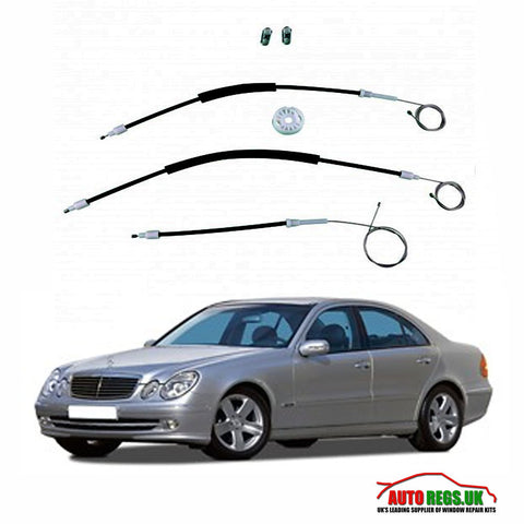 Mercedes Benz E Class W211 Window Regulator Repair Kit 2002 - 2008