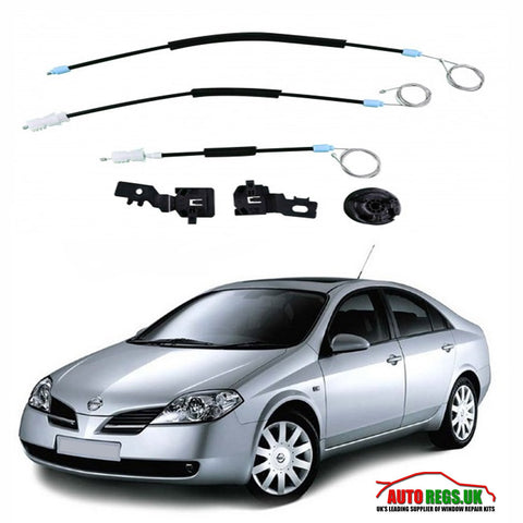 Nissan Primera Electric Window Regulator Repair Kit 2002 - 2008