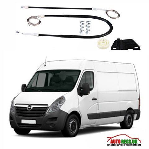 Opel Movano Electric Window Regulator Repair Kit 1997 - 2010