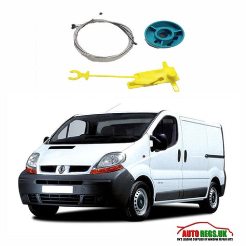 Renault Trafic Electric Window Regulator Repair Kit 2001 - 2014