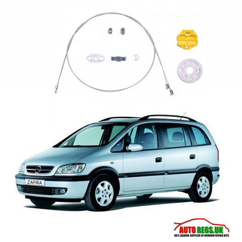 Opel Zafira Window Regulator Repair Kit 1997 - 2005
