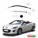 Peugeot 307CC Cabriolet electric window regulator repair kit 2003 - 2008
