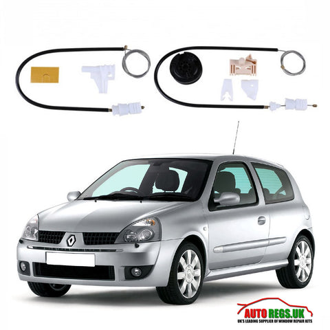Renault Clio 3 Door Electric Window Regulator Repair Kit 1998 - 2004