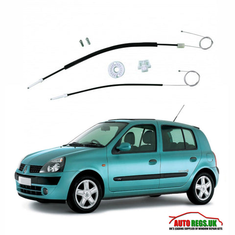 Renault Clio 5 Door Electric Window Regulator Repair Kit 1998 - 2004