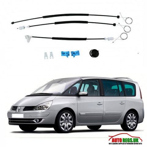 Renault Espace Electric Window Regulator Repair Kit 2003 - 2015