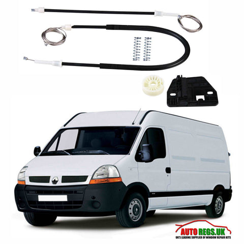 Renault Master Electric Window Regulator Repair Kit 1997 - 2010
