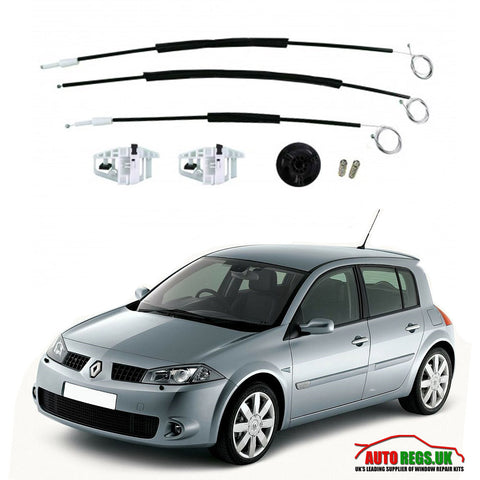 Renault Megane 5 Door Electric Window Regulator Repair Kit 2003 - 2009