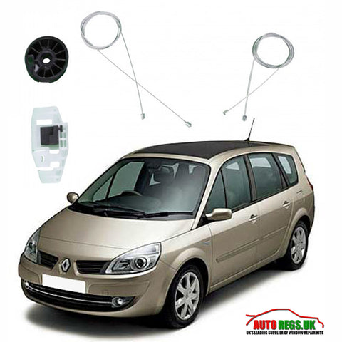 Renault Scenic Electric Window Regulator Repair Kit 2003 - 2009