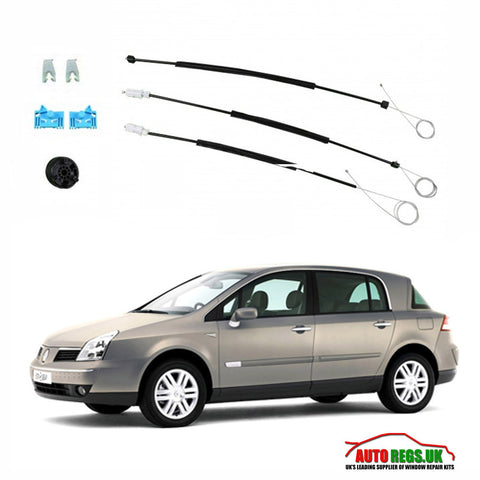 Renault Vel Satis Electric Window Regulator Repair Kit 2002 - 2010