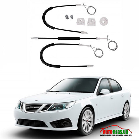 Saab 9-3 Electric Window Regulator Repair Kit 2003 - 2012